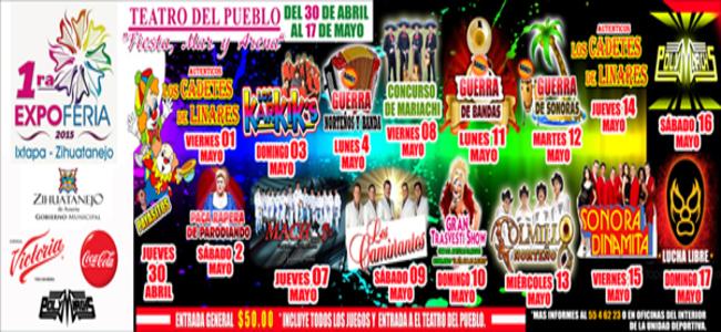 Teatro del Pueblo Ixtapa 2015