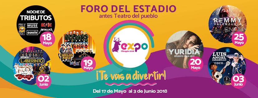 Foro del Estadio Expo Obregon 2018