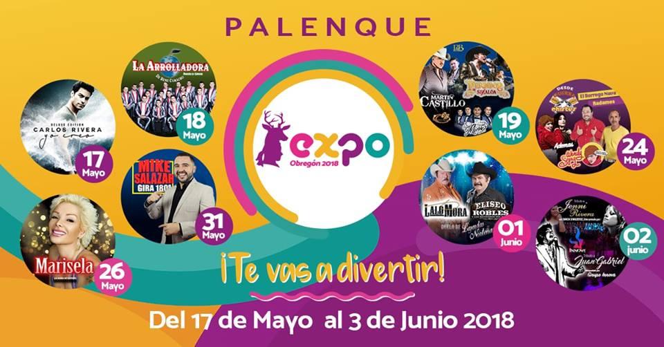 Palenque Expo Obregon 2018