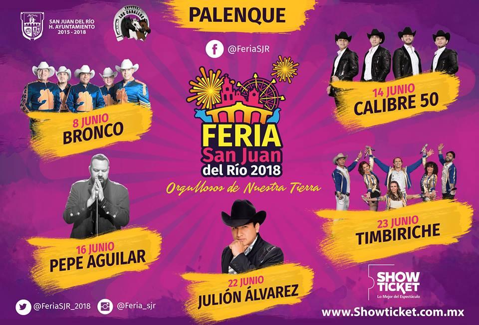 Palenque Feria San Juan del Rio 2018