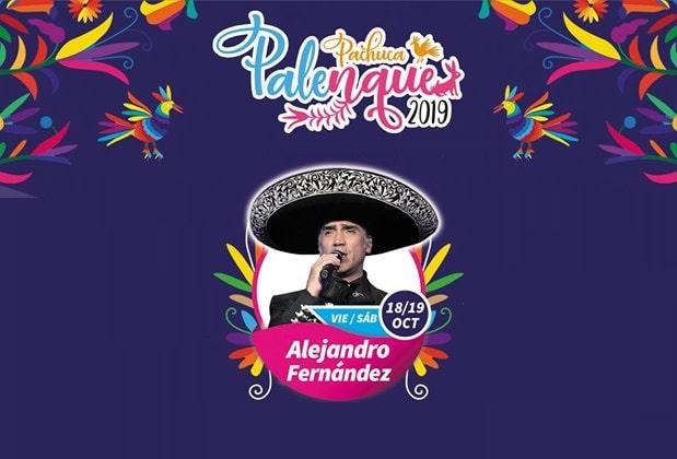 Alejandro Fernandez en el Palenque de la Feria Pachuca 2019