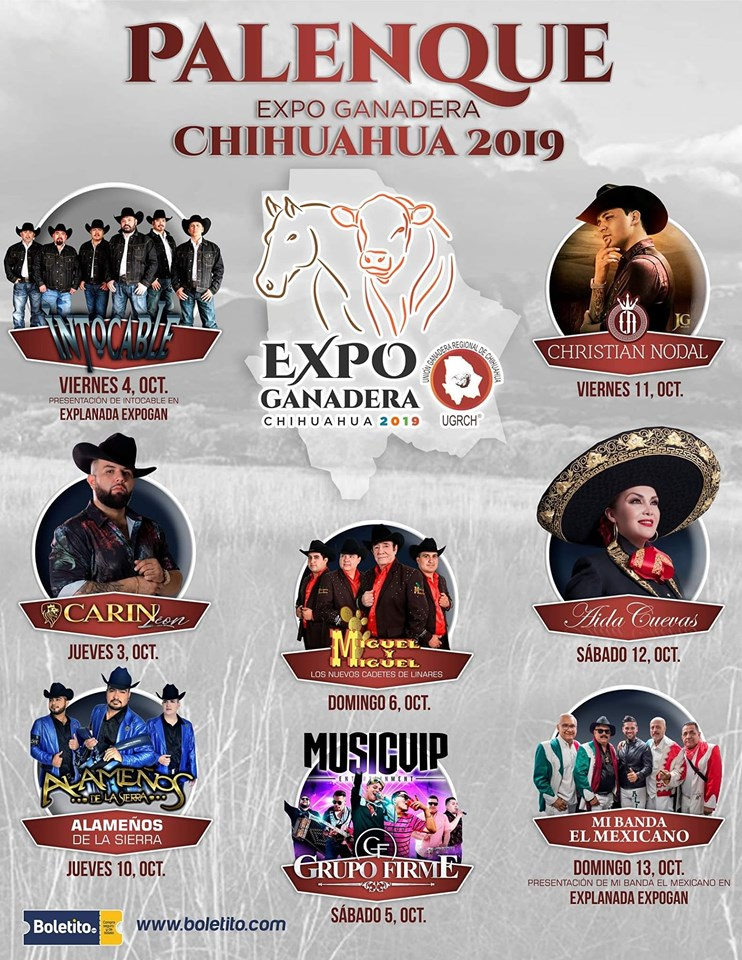 Palenque Expogan Chihuahua 2019