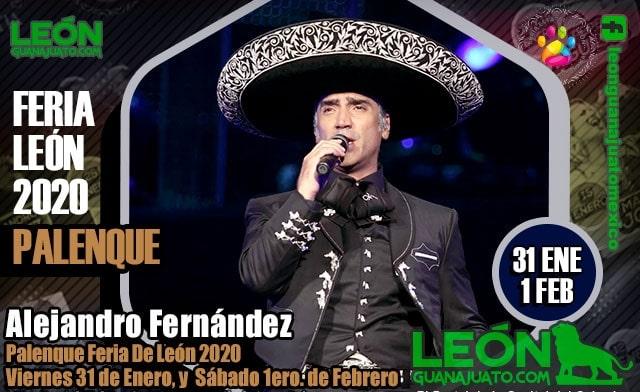 Alejandro Fernandez en el Palenque de la Feria Leon 2020