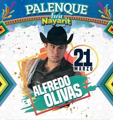 Alfredo Olivas en el Palenque Feria Nayarit 2020