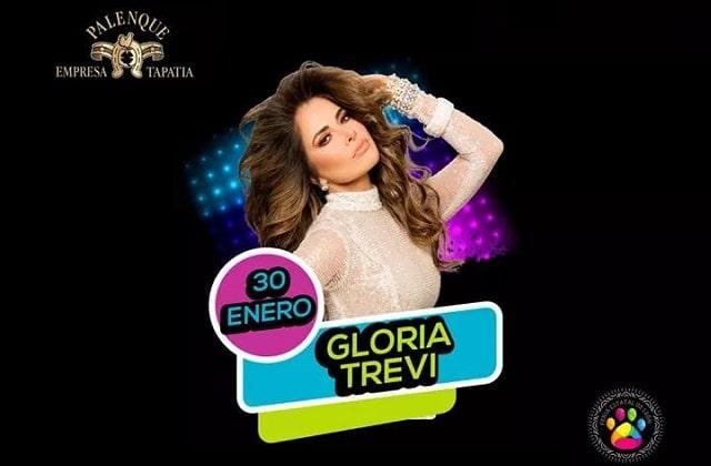 Gloria Trevi en el Palenque de la Feria Leon 2020