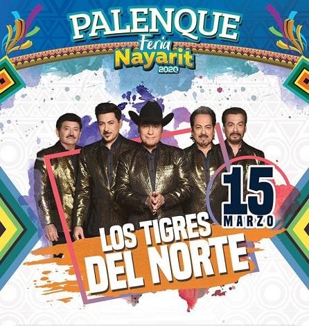 Los Tigres del Norte en el Palenque Feria Nayarit 2020